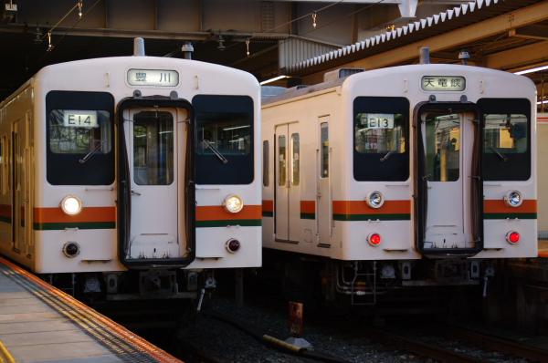 2010年1月3,4、5日 名古屋観光 119系 E13 E14