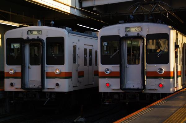2010年1月3,4、5日 名古屋観光 119系 E13 E7