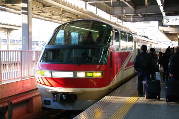 2010年1月3,4、5日 名古屋観光 パノラマカー