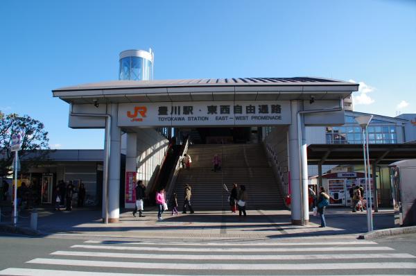 2010年1月3,4、5日 名古屋観光 豊川駅