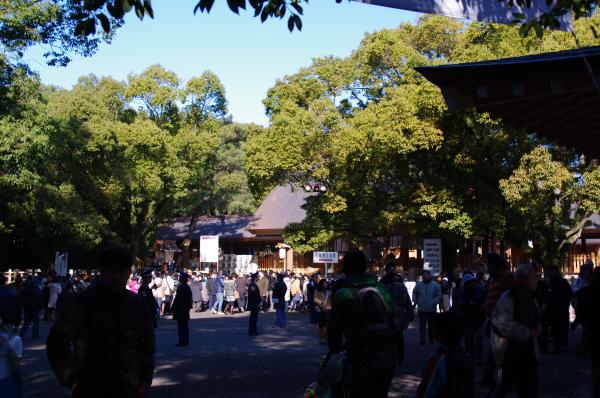 2010年1月3,4、5日 名古屋観光 熱田神宮