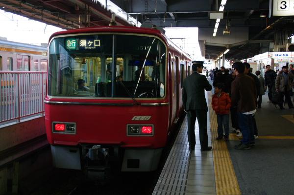 2010年1月3,4、5日 名古屋観光 名鉄