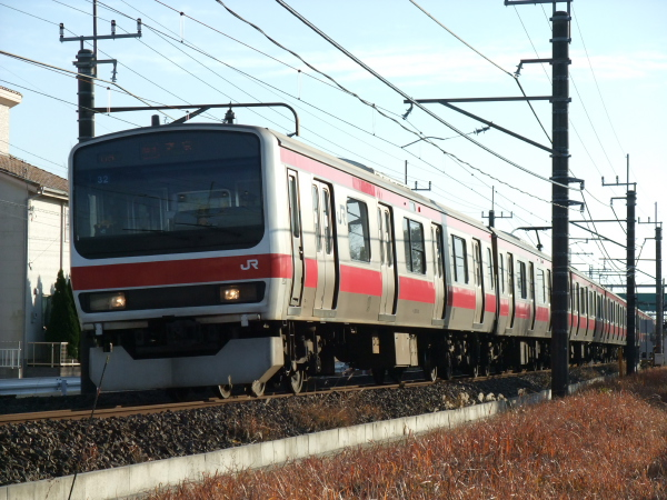 2011年1月9日 外房線 ケヨ32 大網‐永田 4404A