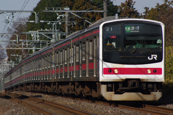 2011年1月9日 外房線 ケヨ4 鎌取‐誉田 3921A