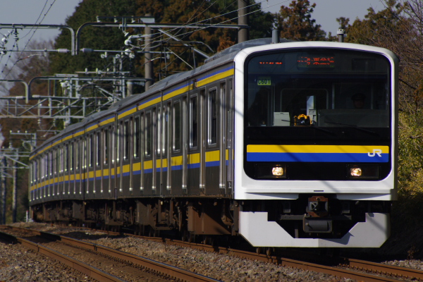 2011年1月9日 外房線 マリC601 鎌取‐永田 1643M