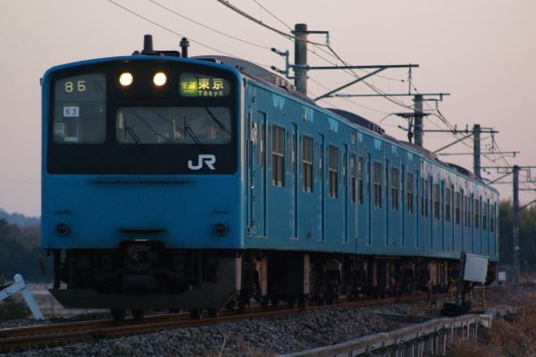 2011年1月9日 外房線 ケヨK3 求名‐成東 3684A