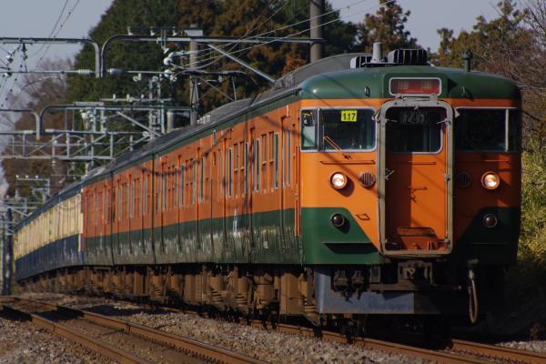 2011年1月9日 外房線 マリ117+マリ116 鎌取‐誉田 247M