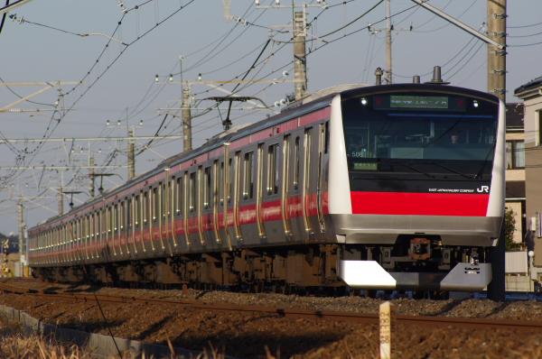 2011年1月9日 外房線 ケヨ508 大網‐永田 1411A