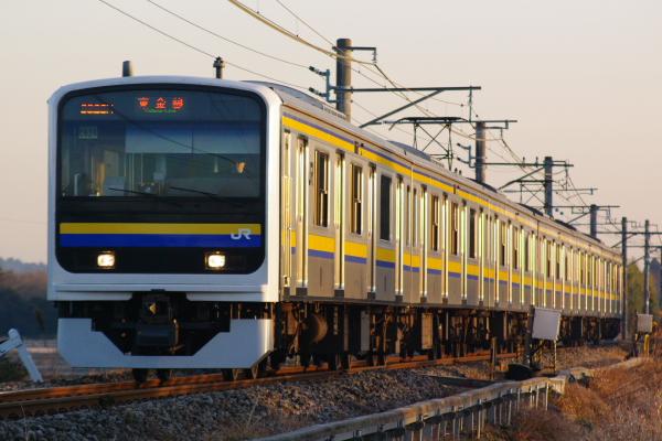 2011年1月9日 外房線 マリC624 求名‐成東 626M
