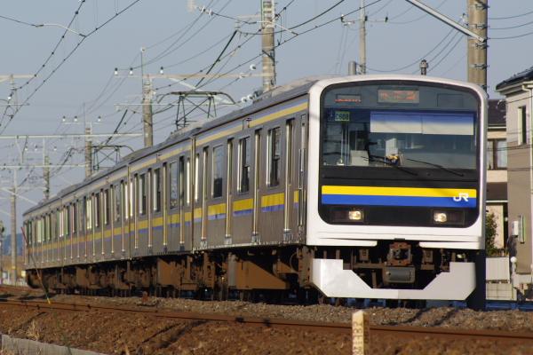 2011年1月9日 外房線 マリC608 大網‐永田 261M