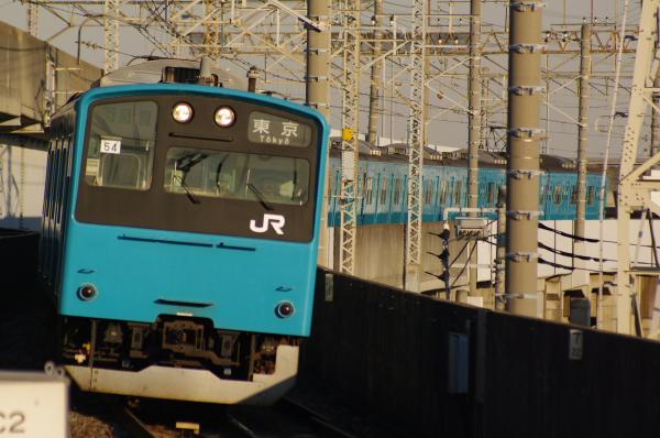 2011年1月22日 京葉線 ケヨ54+K4 二俣新町