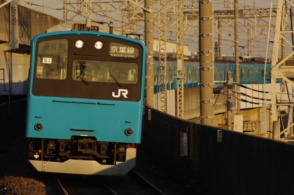 2011年1月22日 京葉線 ケヨ51+K1 二俣新町
