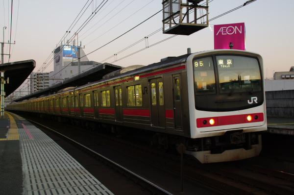 2011年1月22日 京葉線 ケヨ4 稲毛海岸