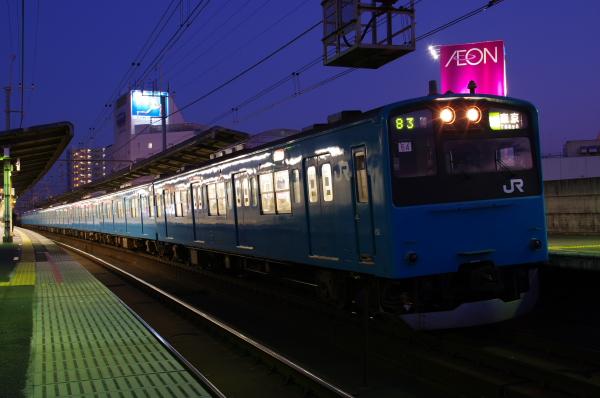 2011年1月22日 京葉線 ケヨ54+K4