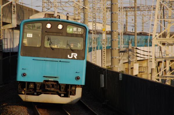 2011年1月26日 京葉線 ケヨ53+K3 二俣新町