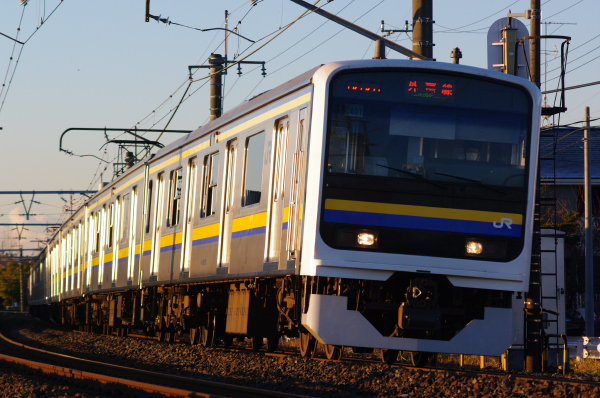 2011年1月30日 外房線 マリC401  永田‐大網