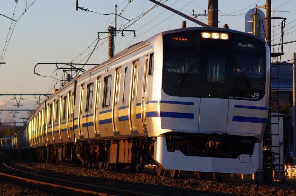 2011年1月30日 外房線 クラY118 永田‐大網