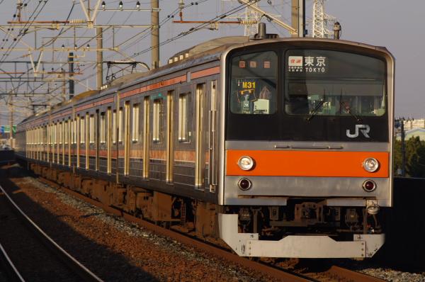 2011年2月3日 京葉線 ケヨM31 市川塩浜
