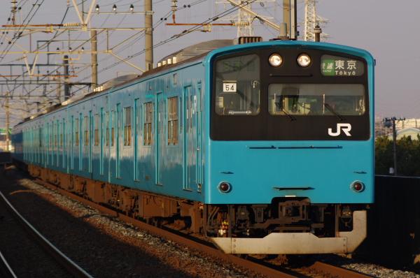 2011年2月3日 京葉線 ケヨ54+K4 市川塩浜