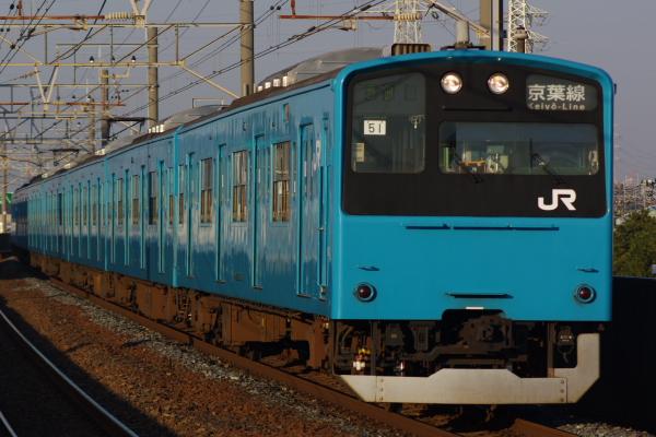 2011年2月3日 京葉線 ケヨ51+K1 市川塩浜