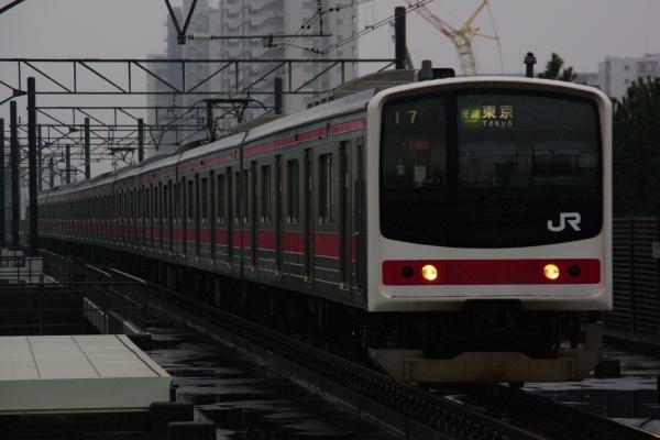2011年2月11日 雪 京葉線 ケヨ4 海浜幕張