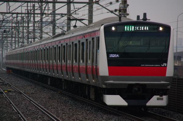 2011年2月12日 雨 京葉線 ケヨ507 新習志野