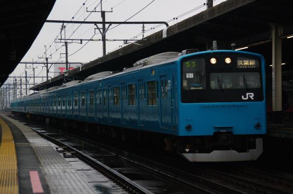 2011年2月12日 雨 京葉線 ケヨ51+K1 新習志野