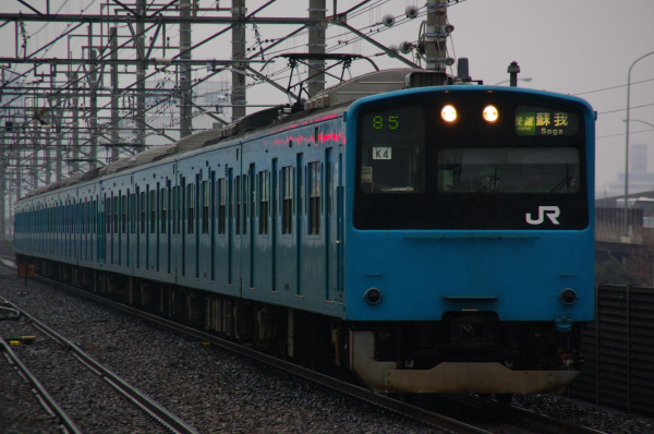 2011年2月12日 雨 京葉線 ケヨ54+K4