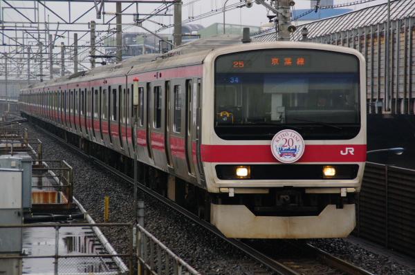 2011年2月12日 雨 京葉線 ケヨ34 南船橋