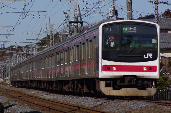2011年2月13日 外房線 ケヨ4 誉田‐鎌取
