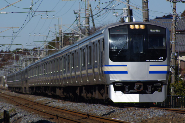 2011年2月13日 外房線 クラY35 誉田‐鎌取