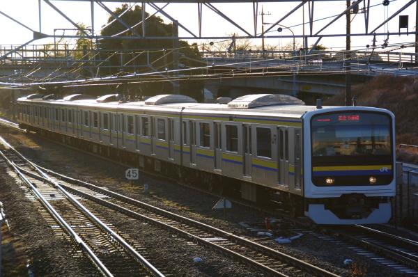 2011年2月13日 外房線 マリC601 誉田‐土気