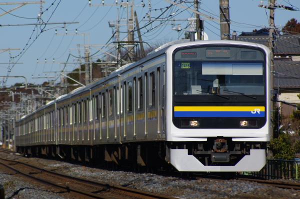 2011年2月13日 外房線 マリC416 鎌取‐誉田