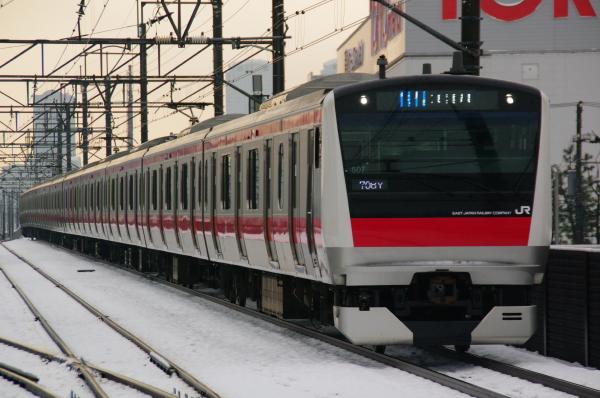 2011年2月16日~京葉線 ケヨ507 新習志野