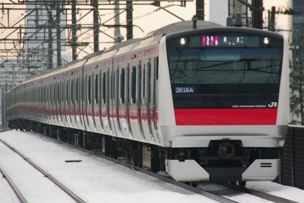 2011年2月16日~京葉線 ケヨ503 新習志野