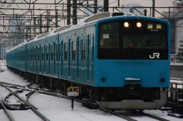 2011年2月16日~京葉線 ケヨ53+K3 新習志野