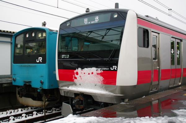 2011年2月16日~京葉線 並び