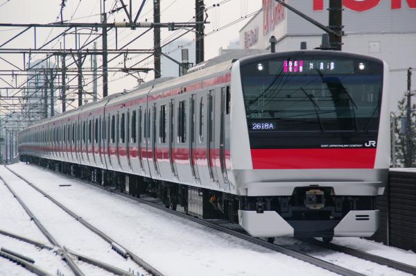2011年2月16日~京葉線 ケヨ513 新習志野