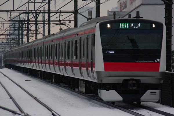 2011年2月16日~京葉線 ケヨ512 新習志野
