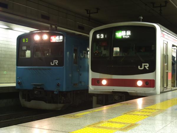 2011年2月17日~京葉線 並び3
