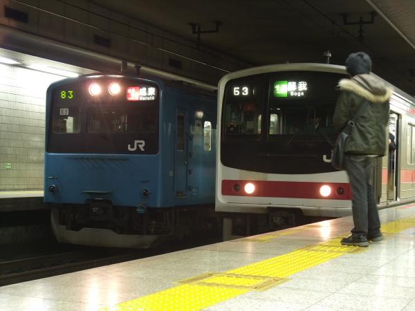 2011年2月17日~京葉線 並び2