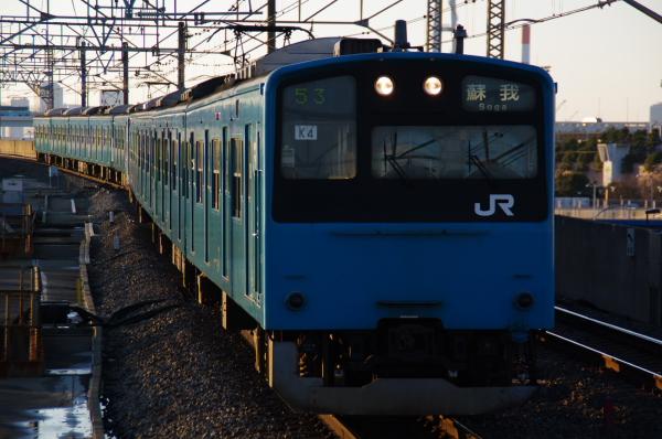 2011年2月18日~京葉線 ケヨ54+K4 臨海公園
