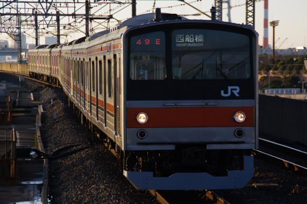 2011年2月18日~京葉線 M3 葛西臨海公園