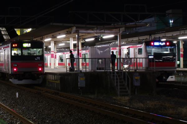 2011年2月18日~京葉線 並び
