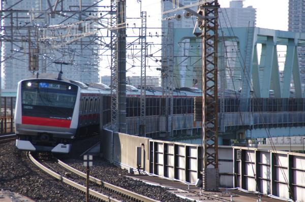 2011年2月18日~京葉線 ケヨ508 新木場