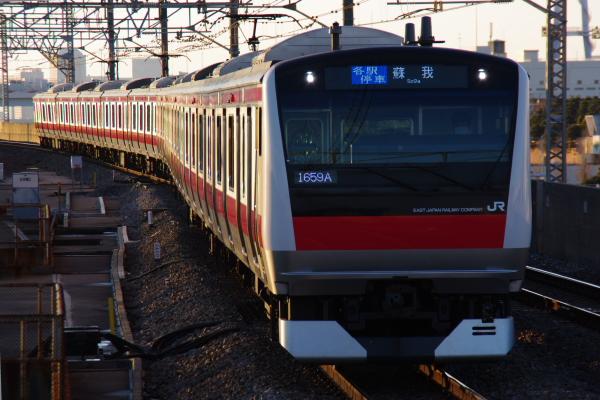 2011年2月18日~京葉線 ケヨ507 臨海公園