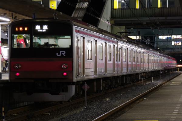 2011年2月18日~京葉線 列番 蘇我