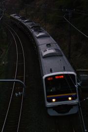 2011年2月20日~外房線 マリC601 土気-大網