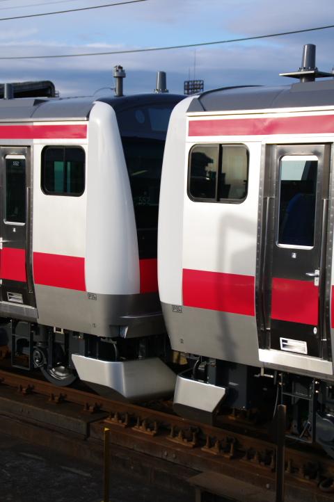 2011年3月2日 京葉線 連結面