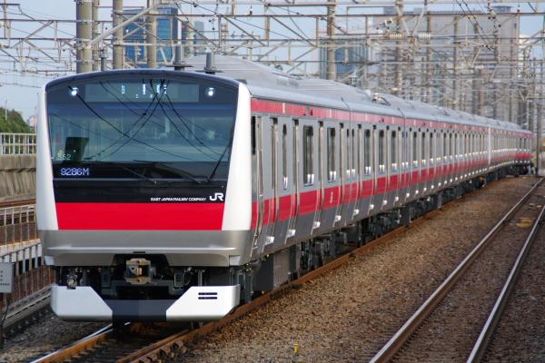 2011年3月2日 京葉線 ケヨ552+F52 新習志野